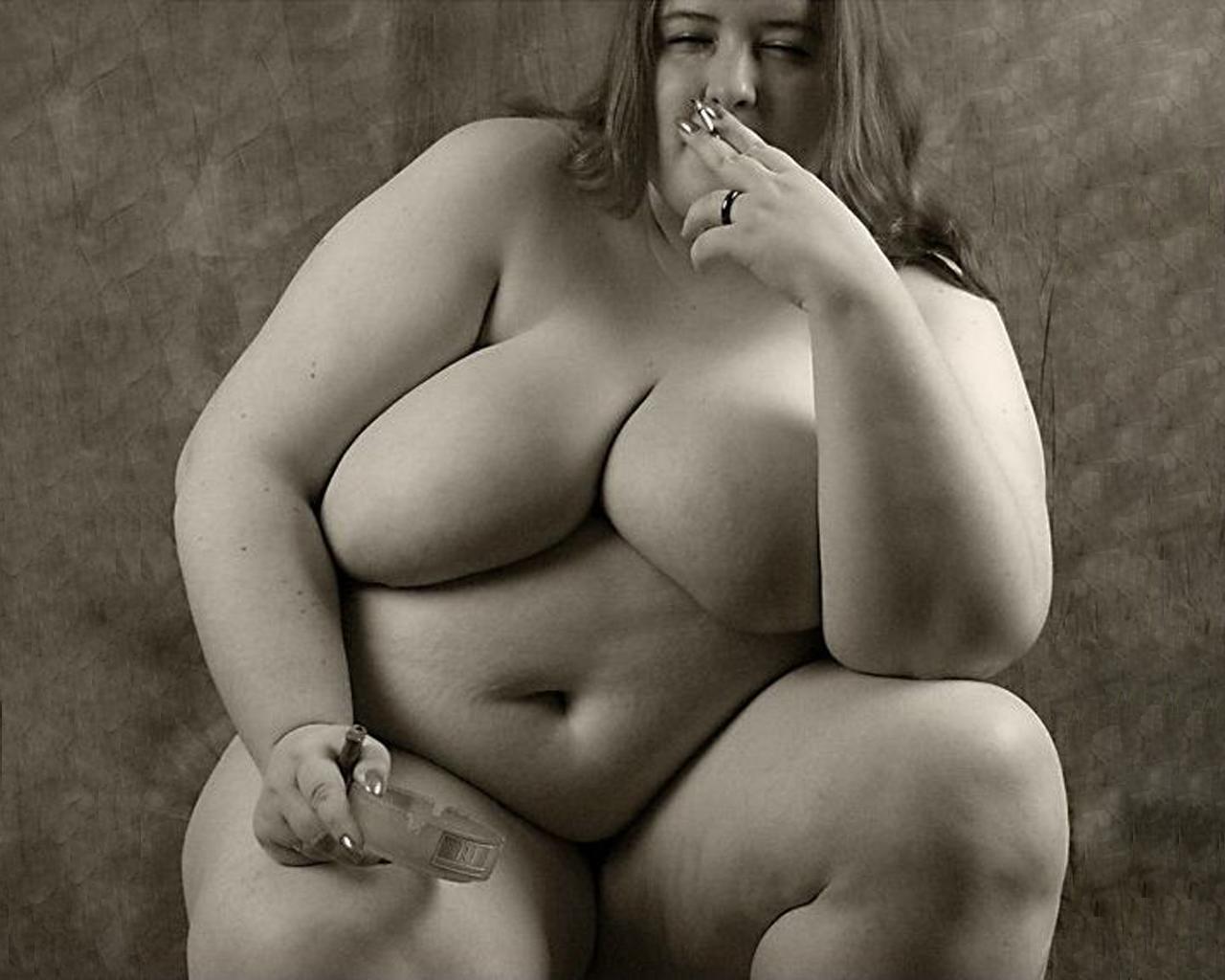 Фото голые жирухи